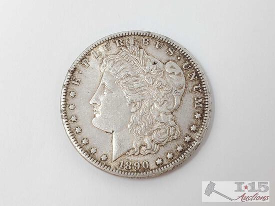 1890 Morgan Silver Dollar- Carson City Mint
