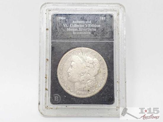 1904 Morgan Silver Dollar - Sacramento Mint