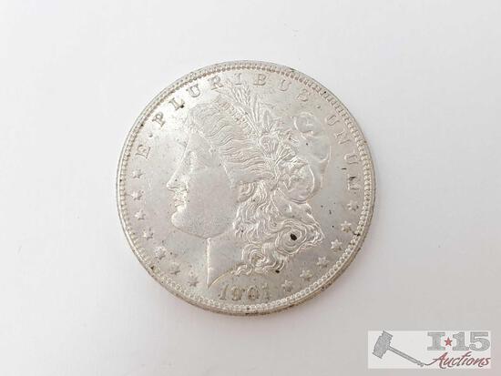 1901 Morgan Silver Dollar - New Orleans Mint