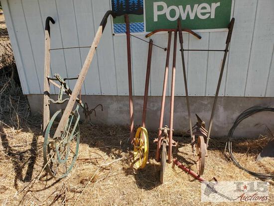 4 Vintage Plows
