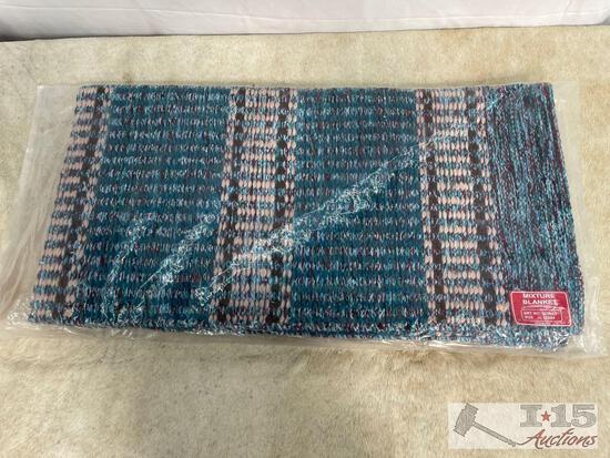 """32"""" x 64"""" Acrylic top saddle blanket"""