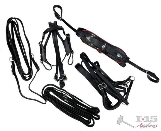 Mini Horse / Small Pony leather driving harness