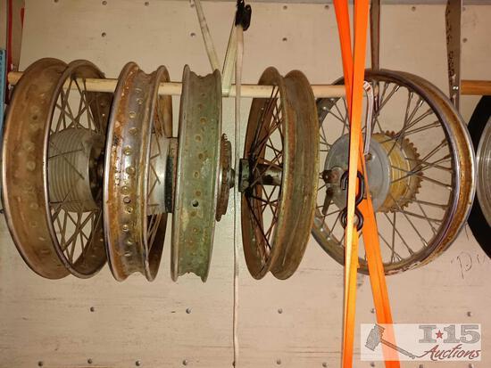 Approximately Five Bespoke Motorcycle Wheels