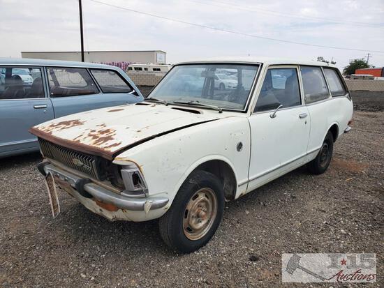 1971 Toyota Corolla TE28 2 Door Wagon