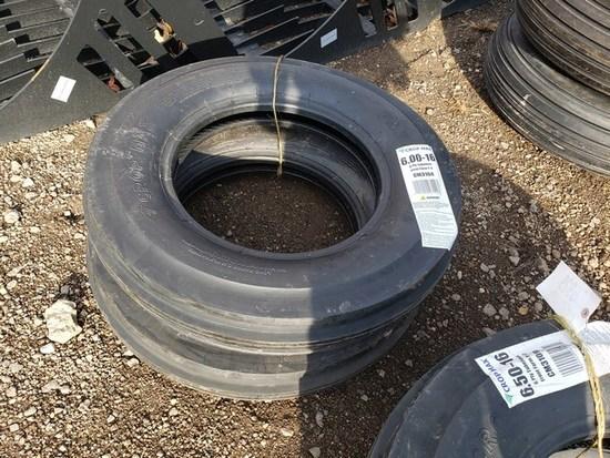 (2) 6.00x16 Tires