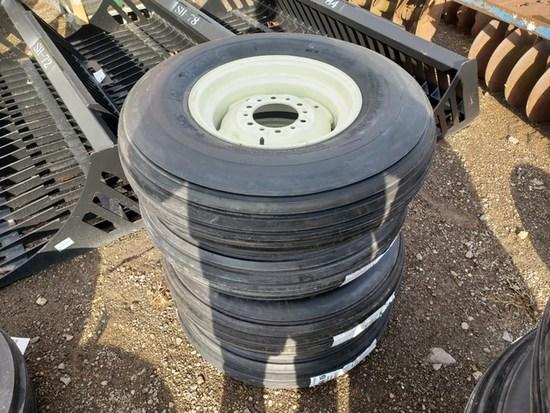 (4) 9.5L x15 Tires/New