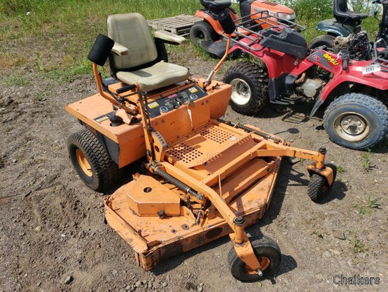 Scaag ZTR Mower/Runs and Works/Bad Left Drive Motor