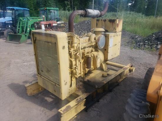Cat Diesel Generator/Runs Good