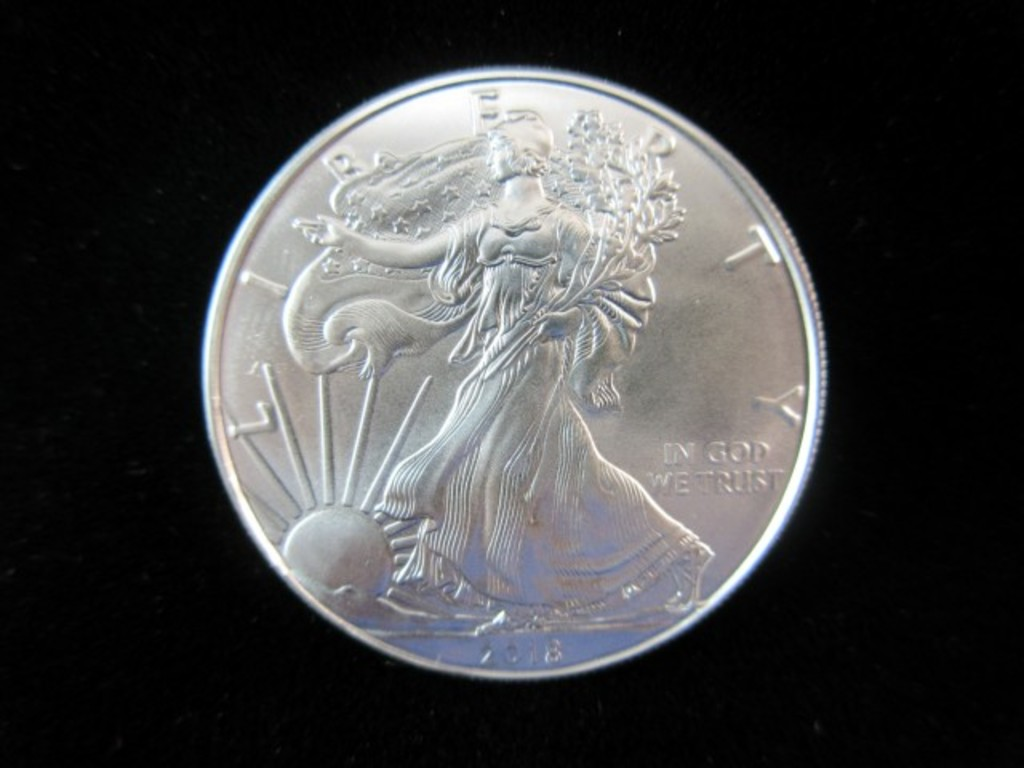 1921 Silver Dollar & .999 Fine Silver Coin Auction