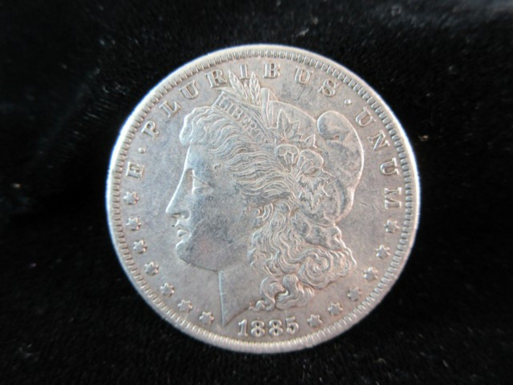 1885 O Silver Morgan Dollar