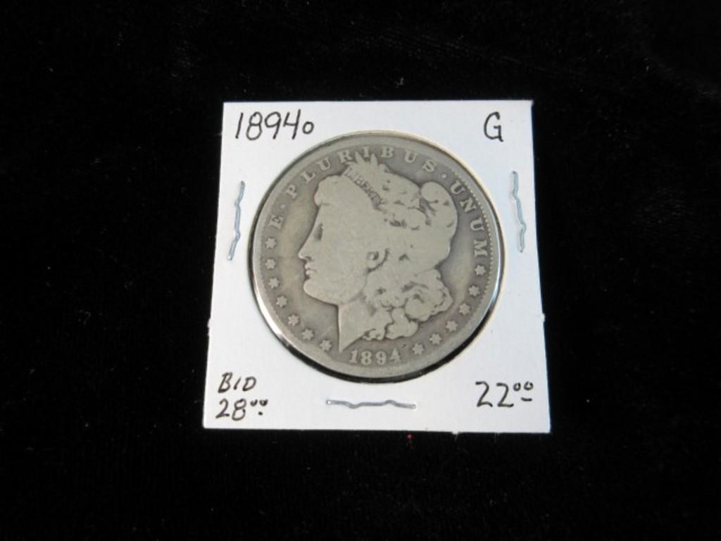 1894 o Silver Dollar