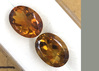 Matched Set of Gold Citrine 5.640 ct