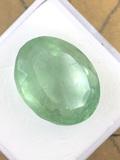 Colombian Green Fluorite 12.77 ct