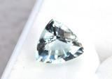 2.27 Carat Amazing Trillion Cut Aquamarine