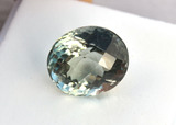 7.69 Carat Top Jewelry Grade Green Amethyst