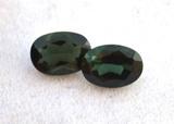 1.53 Carat Matched Pair of Chrome Green Tourmalines