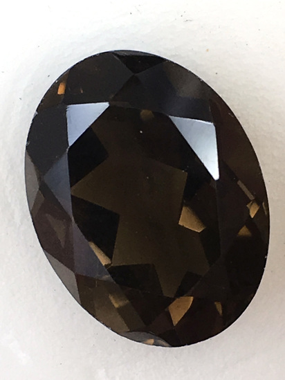 Smokey Quartz Oval 11.11 ct