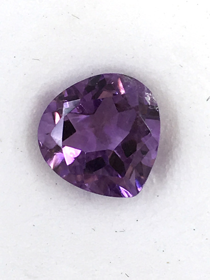 Amethyst Fancy Heart Shape 2.52 ct