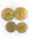 WOW - Rare California Gold Coins 1.2 grams