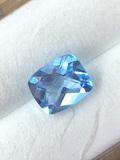 Cushion Checker Natural Blue Topaz 1.67 ct