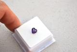 1.03 Carat Heart Shaped Amethyst
