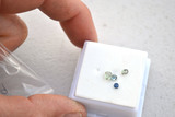 0.89 Carats of Fine Blue and Green Sapphire
