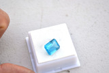 6.67 Carat Fantastic Electric Blue Topaz