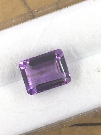 Amethyst Emerald Cut 2.32 ct