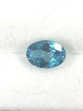 Sea Green Topaz Oval Cut 1.02 ct