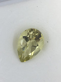 Amazing Lemon Citrine Pear cut 3.16 ct