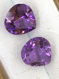 Amethyst Matched Pair 4.88 ct