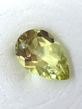 Teardrop Shaped Lemon Citrine 2.88 ct