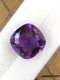 Amethyst Cushion Cut 4.81 ct
