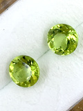 Matched Pair of Peridot 1.68 ct