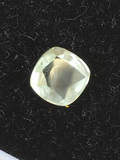 Green Amethyst Cushion Cut 1.33  cts