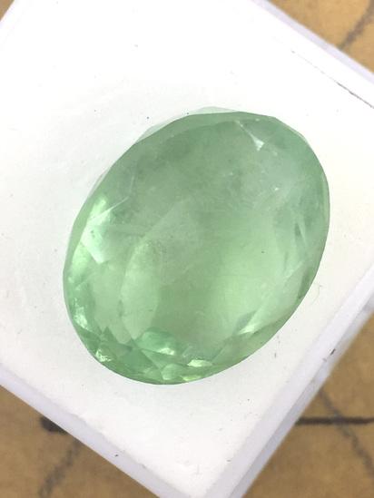 Colombian Green Fluorite 42.39 ct