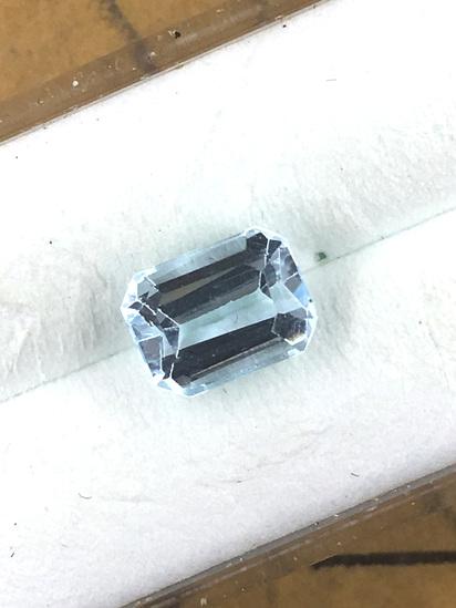 Sky Blue Topaz  Emerald 1.13 ct