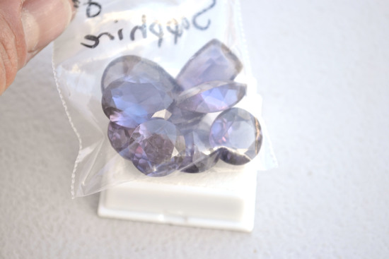 Big Bag of Synthetic Color Change Sapphire