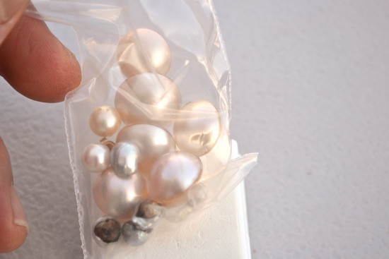 Big Bag of Pearls and Mother of Pearl