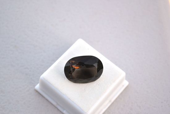 20.00 Carat Oval Cut Smoky Quartz