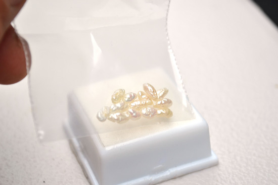 4.06 Carats of Freshwater Pearls