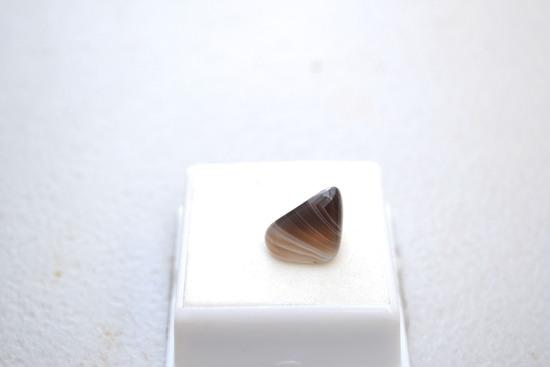 7.62 Carat Fine Botswana Banded Agate