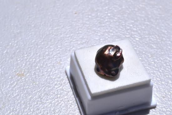 19.86 Carat Huge Baroque Black Pearl