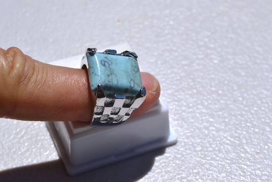 Faux Turqouise Ring