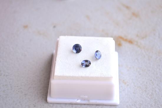 1.40 Carat Parcel of Fine Iolites