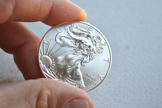 2014 Silver Eagle -- 1 Oz Fine Silver