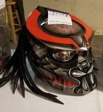 Predator Motorcycle Helmet & Bag