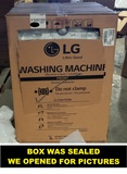 New LG Washer/dryer All-in-One ~ Model #wm3997hwa