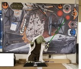 Yoda Prop Replica & Star Wars Fathead Decals