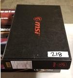 MSI Gl65 Leopard 15in Gaming Laptop ~ Model 10SFKV-062